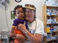 Mary Ann in Haiti