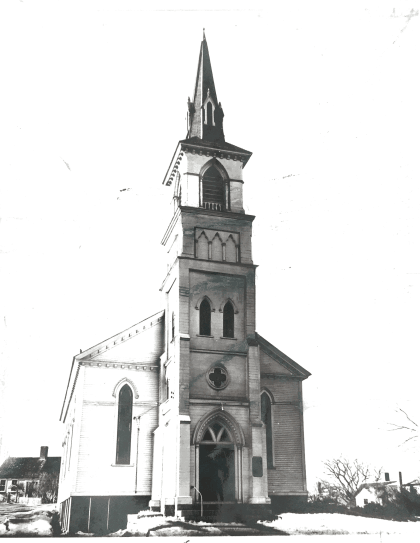 Older steeple picture