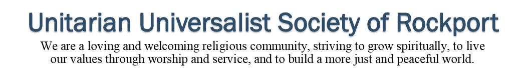Unitarian Universalist Society of Rockport Logo